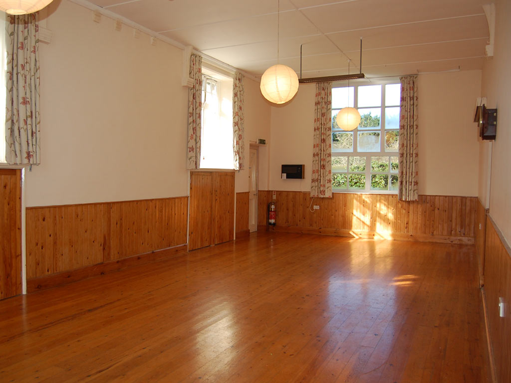 Broadwoodkelly Village Hall main hall