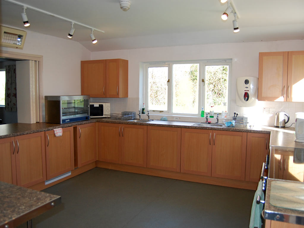 Broadwoodkelly Village Hall kitchen