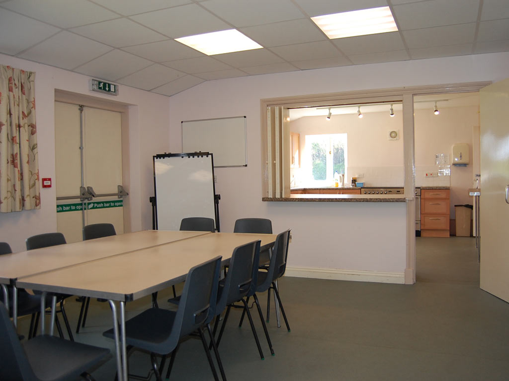 Broadwoodkelly Village Hall meeting room